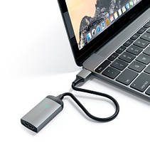 Satechi Type-C HDMI Adapter Space Gray (ST-TC4KHAM), фото 2
