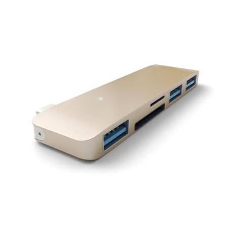 Satechi Type-C USB Hub Gold (ST-TCUHG), фото 2