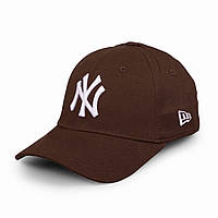 Бейсболка NY коричневая, кепка New York