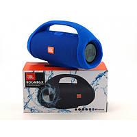 Портативная bluetooth колонка влагостойкая JBL Boombox B9 mini FM, MP3, радио Синяя