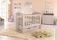 Детская кроватка Angelo Lux- 4 (цвет слоновая кость )