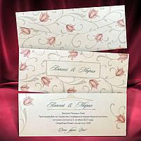"""Запрошення на весілля """"Tulip"""", фото 2"""