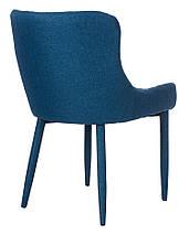 Стілець М-20 синій шеніл, фото 3