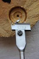 Сверло перовое сборное к/х ф 82-102 мм (державка для перовой пластины) КМ5 L=340 мм