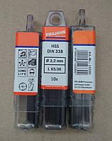 Сверло по металлу HSS-R DIN 338 ECO 3,2 mm PROJAHN