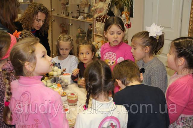 В дни школьных каникул, мастер-классы для детей и взрослых! В Студии куклы!