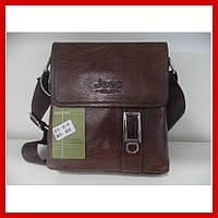 Мужская сумка через плечо Jeep Buluo Bag 05-1 коричневая