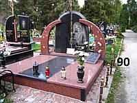 Двойной памятник Гранит №0047