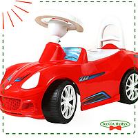 Машинка каталка Спорткар 160 красный