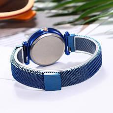 """Жіночі наручні годинники на магнітній застібці """"Meibo"""" (фіолетовий ремінець), фото 3"""