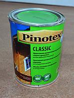Эффективная декоративная пропитка для защиты древесины Classic Pinotex 1 л.