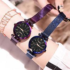 """Женские наручные часы на магнитной застежке """"Meibo"""" (коричневый ремешок), фото 2"""