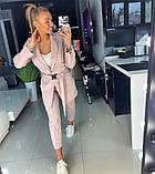 Костюм с пиджаком пудровый, фото 5