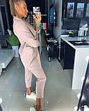 Костюм с пиджаком пудровый, фото 4
