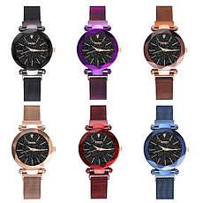 """Женские наручные часы на магнитной застежке """"Meibo"""" (синий ремешок), фото 3"""