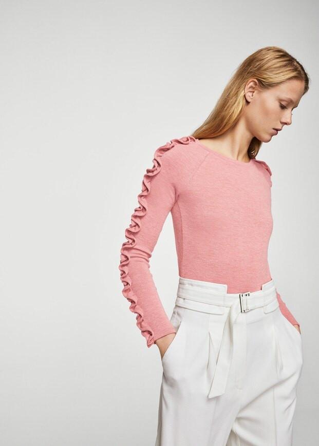 Свитшот-свитер женский Mango размер 40-42 RU толстовки женские реглан