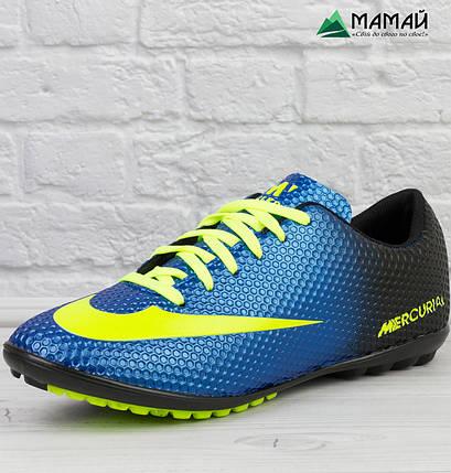 615f56fcb390ea Футзалки бампы Nike Mercurial - Футбольная обувь 40-44р реплика, фото 2