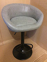 Барный стул Оазис Блек Нубук (Oasis Black Nubuck)