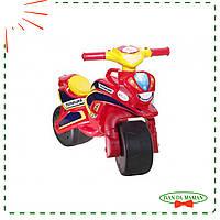 Мотоцикл Doloni Полиция музыкальный 0139 красный