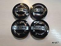 Колпачки заглушки в литые диски Nissan/Нисан 54/48/10 мм. C7042K54