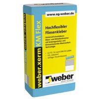 Эластичный клей для плитки Вебер.ксерм КМ Флекс / Weber.xerm KM Flex (уп.25 кг)