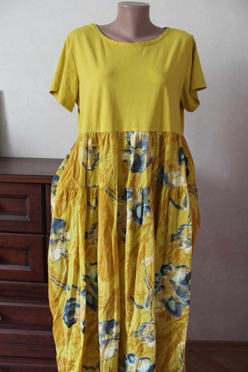 10bb1d899bb Платье однотонный трикотаж+коттон - Elenka - женская одежда оптом  юбки и  сарафаны женские