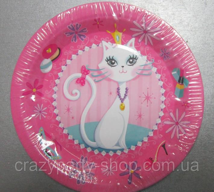 Тарелки праздничные Кошечка лицензионные