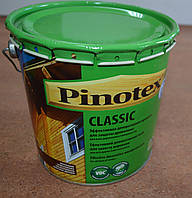 Эффективная декоративная пропитка для защиты древесины Classic Pinotex 3 л.