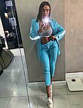 Костюм голубой, фото 2