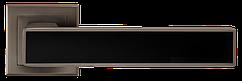 Ручка A-2015 MA+BLACK Матовий антрацит з чорною вставкою