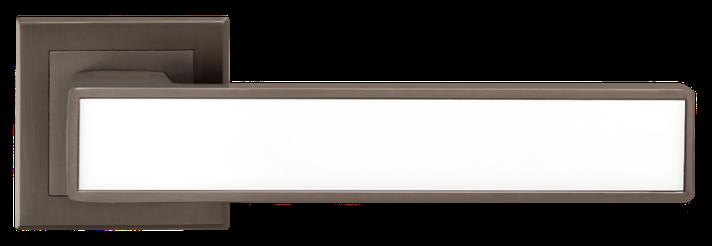 Ручка A-2015 MA+WHITE  Матовый антрацит с белой вставкой, фото 2