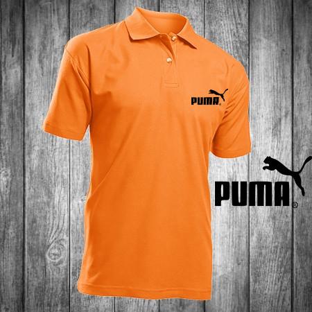 bd0cb29e0294 Футболка, поло, тенниска PUMA,оранжевая ПУМА, реплика, летняя ...