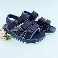 Босоножки пенковые сандалии спортивные на липучках мальчику Том.м размер 30
