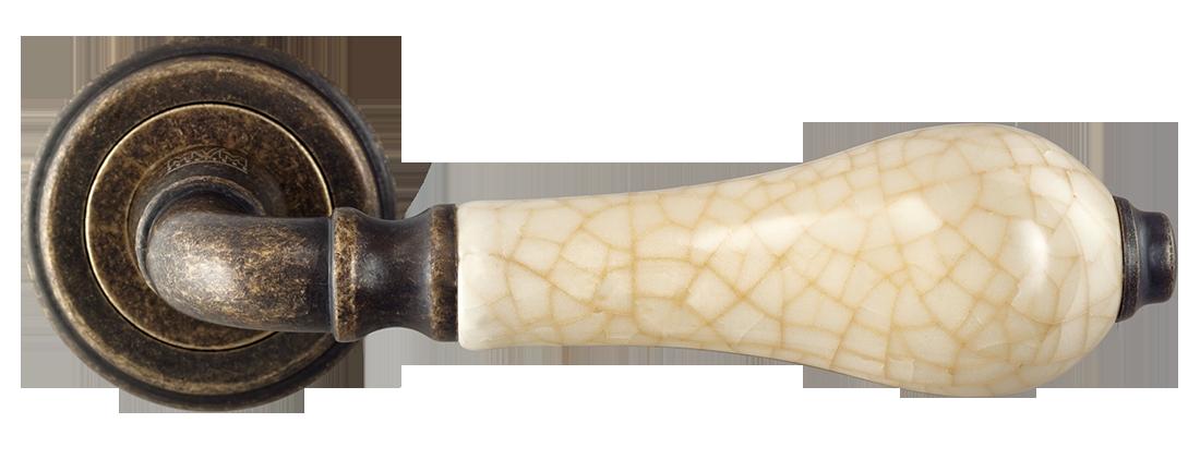Ручка Z-1222 AMAB античная матовая старая бронза