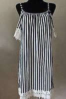 Платье женское полоска брительки, фото 1