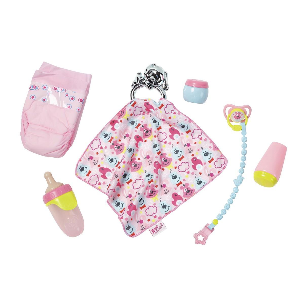 Набор аксессуаров для куклы BABY BORN -  ЗАБОТА О МАЛЫШЕ