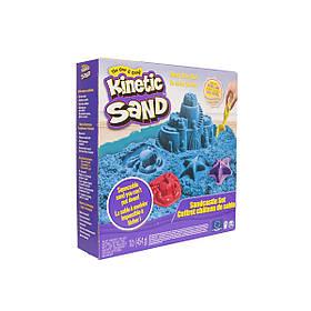 Набор песка для творчества - Kinetic Sand Замок Из Песка  (голубой)
