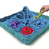 Набор песка для творчества - Kinetic Sand Замок Из Песка  (голубой), фото 3