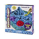 Набор песка для творчества - Kinetic Sand Замок Из Песка  (голубой), фото 5