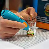 Уценка Набор для 3D-ручки 3Doodler Start - БИСТРО (48 стержней, шаблон,3 кольца , трафарет ), фото 3