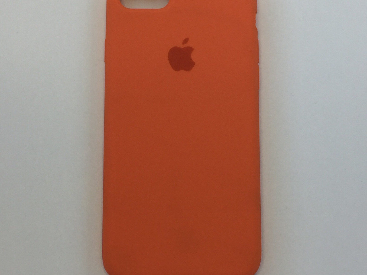 """Чехол - Silicon Case для iPhone """"Оранжевое настроение - №13"""""""