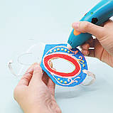 Уценка Набор аксессуаров для 3D-ручки 3Doodler Start – Маскарад (48 стержней , шаблоны), фото 8