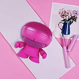 Акустика XOOPAR - XBOY GLOW (12 cm, розовая, Bluetooth, стерео, сс MP3-проигрывателем с SD-карты), фото 3