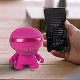 Акустика XOOPAR - XBOY GLOW (12 cm, розовая, Bluetooth, стерео, сс MP3-проигрывателем с SD-карты), фото 4