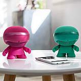 Акустика XOOPAR - XBOY GLOW (12 cm, розовая, Bluetooth, стерео, сс MP3-проигрывателем с SD-карты), фото 5