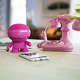 Акустика XOOPAR - XBOY GLOW (12 cm, розовая, Bluetooth, стерео, сс MP3-проигрывателем с SD-карты), фото 6