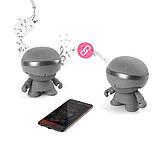 Акустика XOOPAR - XBOY GLOW (12 cm, серая, Bluetooth, стерео, с MP3-проигрывателем с SD-карты), фото 2