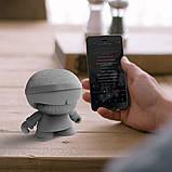 Акустика XOOPAR - XBOY GLOW (12 cm, серая, Bluetooth, стерео, с MP3-проигрывателем с SD-карты), фото 5