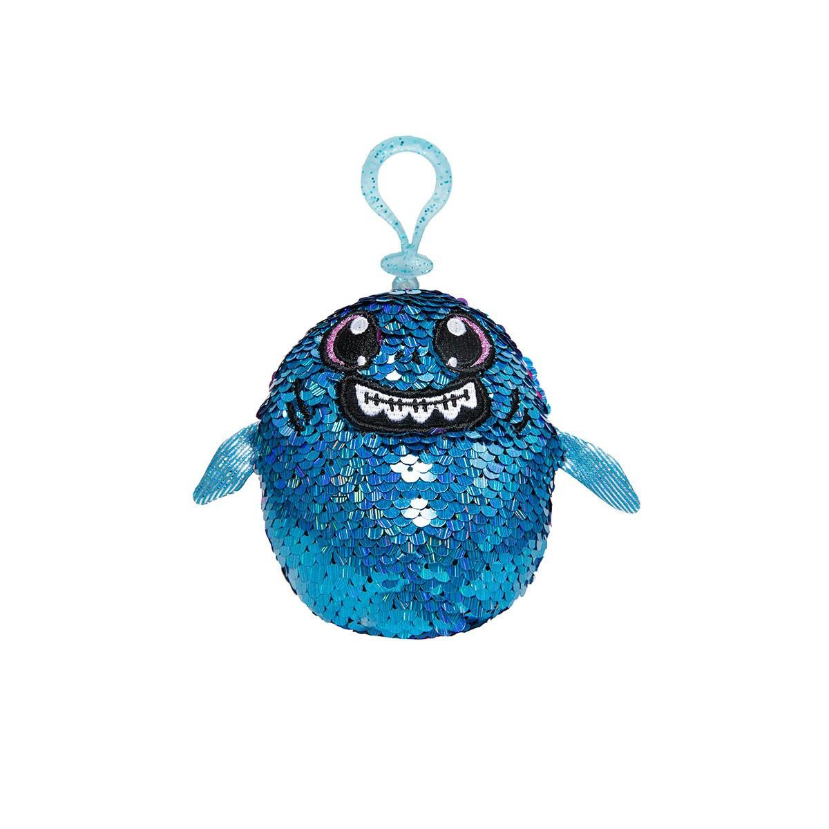 Мягкая игрушка с пайетками SHIMMEEZ S2 – АКУЛА ЗУБАСТИК
