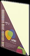 Бумага цветная Uni Color Pastell A4 плотность160 100листов Vanilla